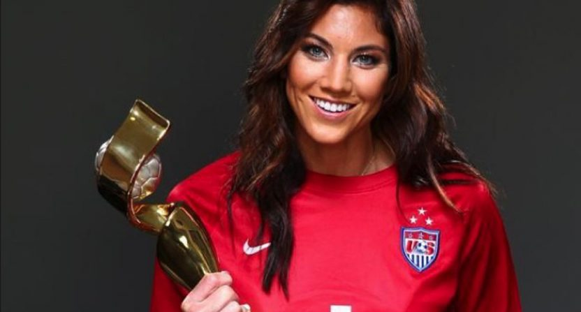 A Hope Solo biopic is in devel...