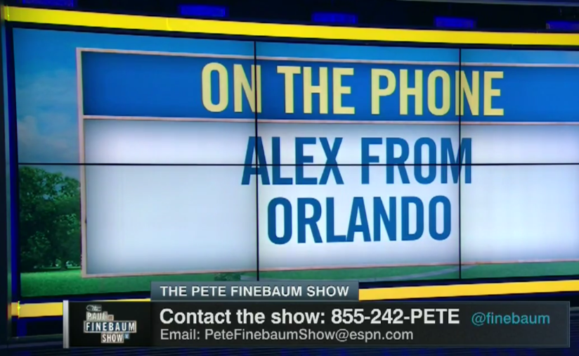 Call The Pete Finebaum Show today!