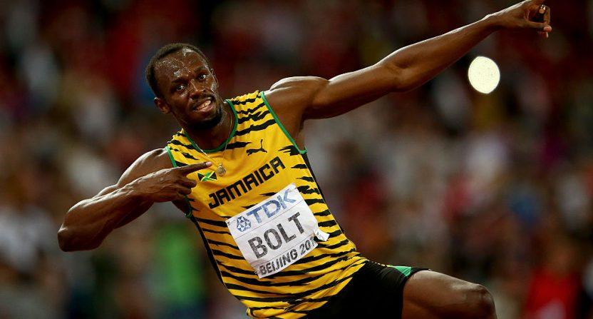 Usain Bolt IAAF track worlds 2015