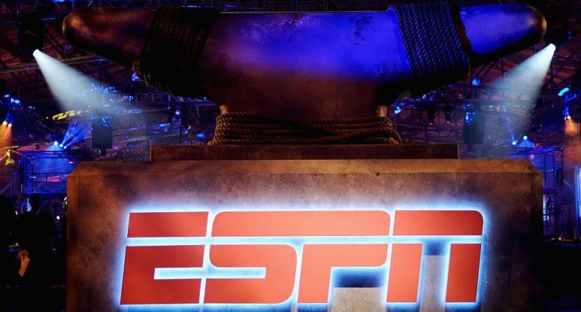 ESPN logo for Nielsen coverage estimates.