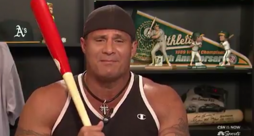Will sponsored segments like this Jose Canseco one take off in place of regular commercial breaks?