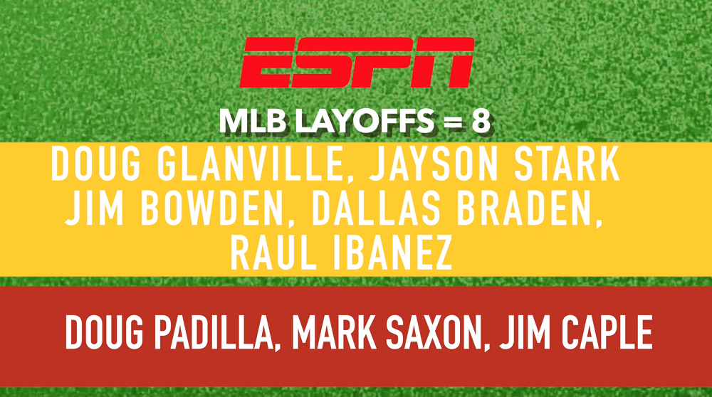Here are the confirmed ESPN layoffs (constantly updated)