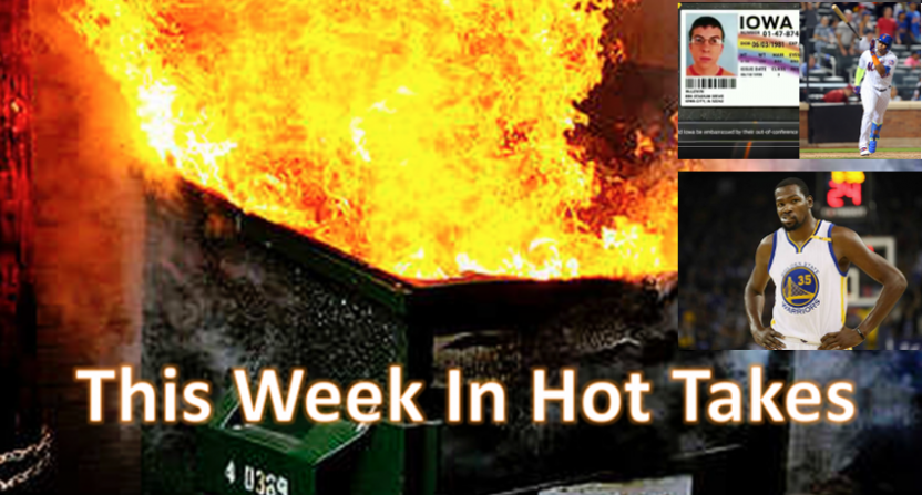 This Week In Hot Takes for April 7-13.