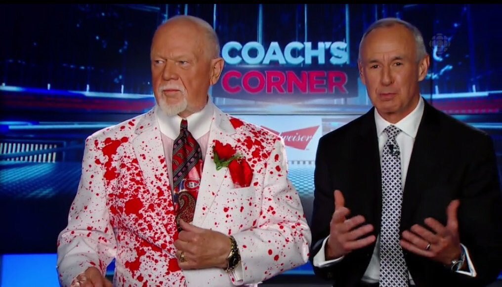 Don Cherry murdered hockey fashion, and wore its blood all ...