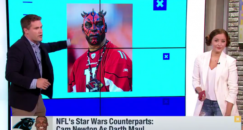 Good Morning Football Star Wars