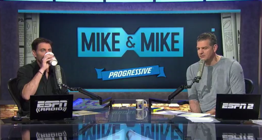 Mike and Mike break up.
