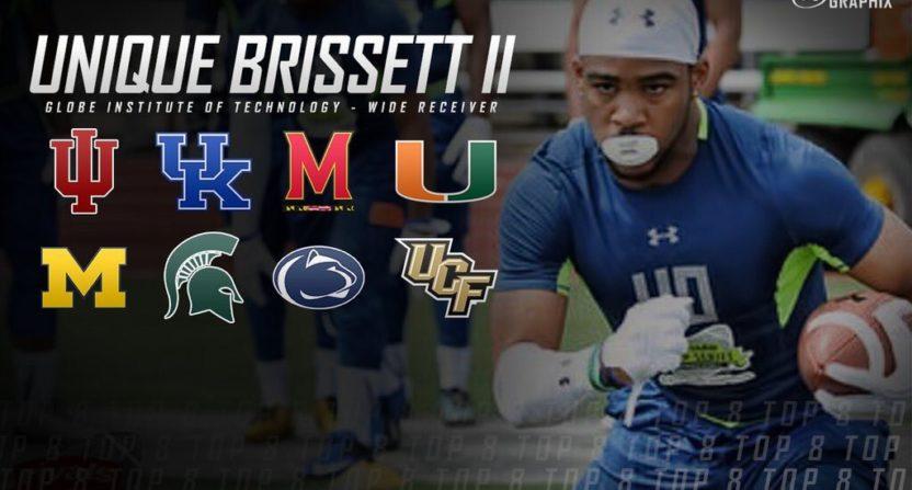 Fake recruit Unique Brissett II