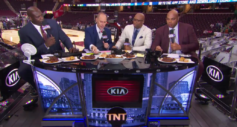 b75257df4d55 Shaq and Charles Barkley made things really weird again arguing on Inside  the NBA