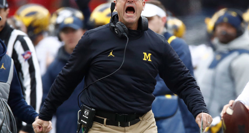 Michigan and head coach Jim Harbaugh will be featured in a new Amazon documentary series.