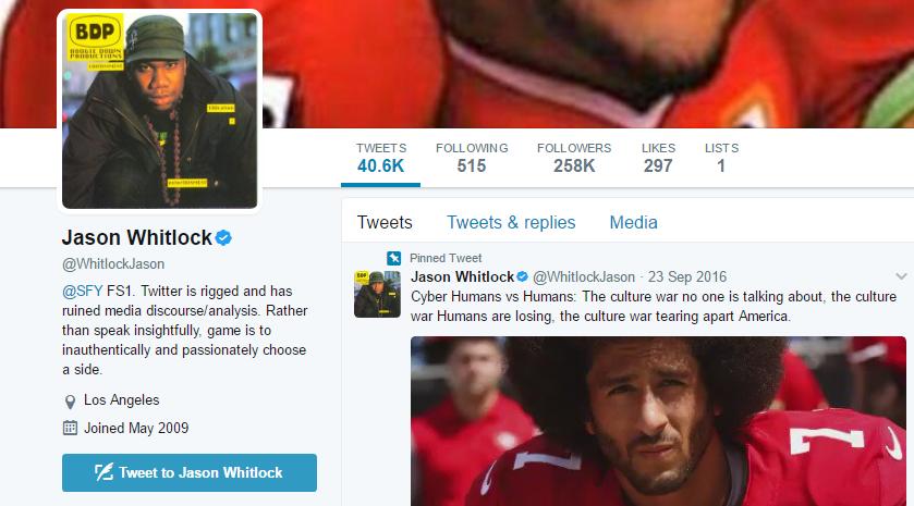 Jason Whitlock Twitter