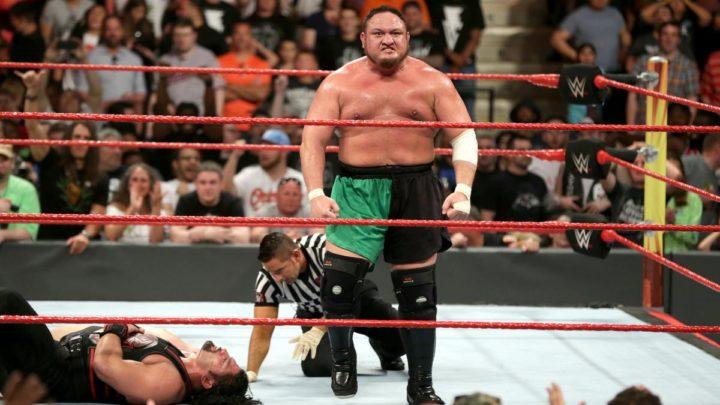 Wwe Extreme Rules Review Samoa Joe Wins 5 Way Main Event To Earn Universal Title Match