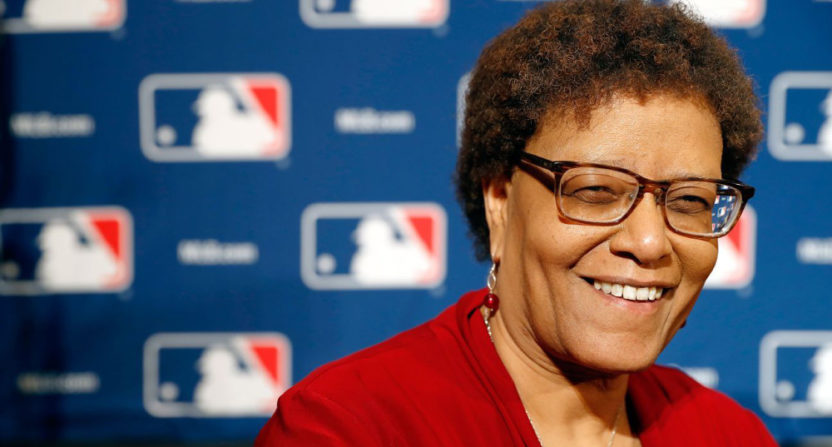 ESPN's Claire Smith is the first female recipient of the Baseball Hall of Fame's J.G. Taylor Spink Award.