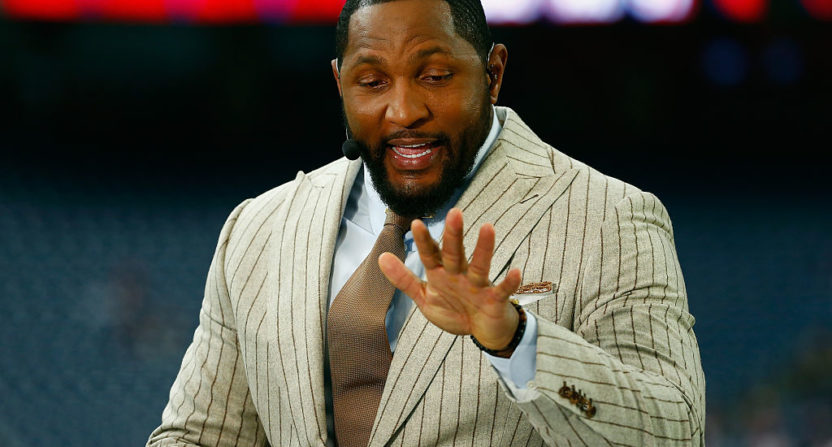 pretty nice b1281 bb43b Ray Lewis joining Showtime's Inside the NFL