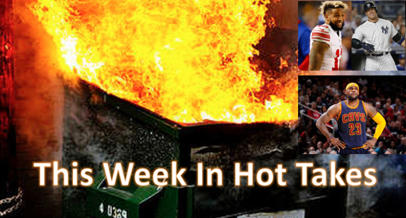 """The hottest takes for July 21-27 were topped by Stephen A. Smith """"literally going nuclear."""""""