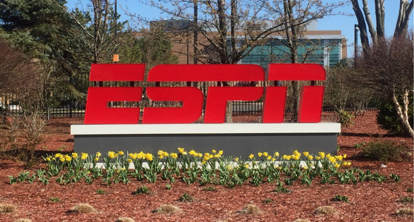 The ESPN headquarters in Bristol, CT.
