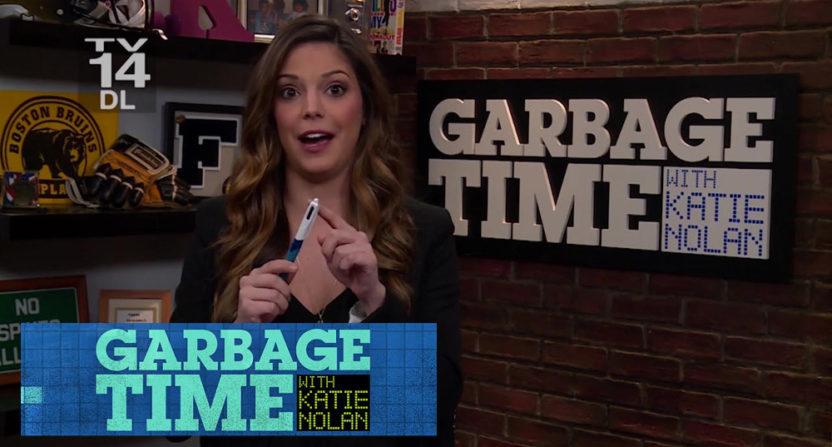 Katie Nolan's Garbage Time is no more.