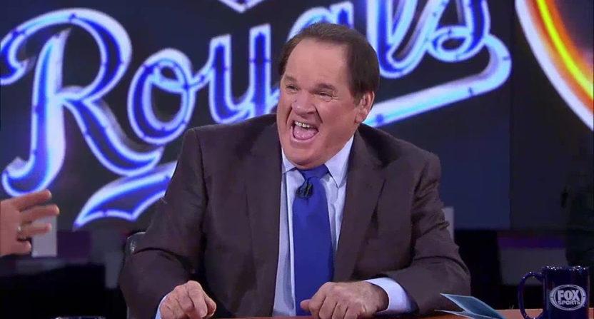 Pete Rose on Fox.