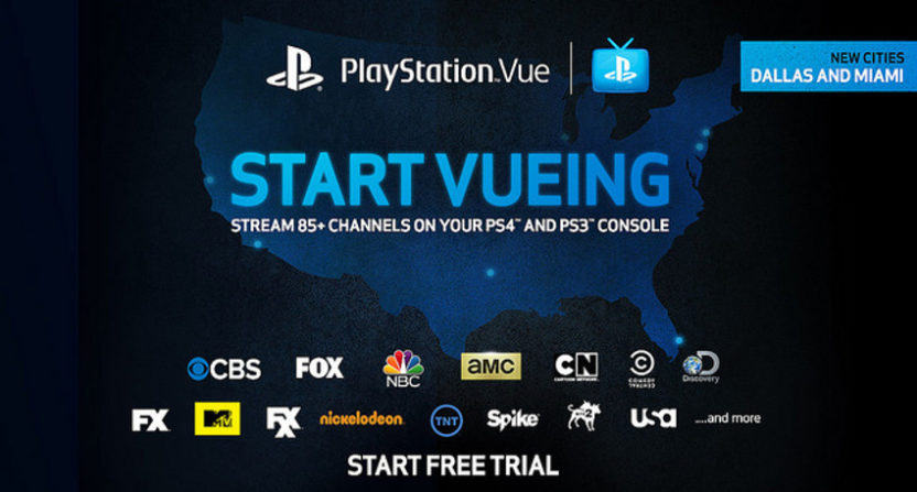 PlayStation Vue has added a bunch of local ABC and NBC affiliates.
