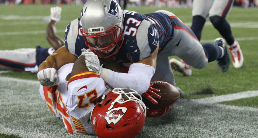 The NFL opening game Thursday drew the lowest NFL Kickoff rating since 2009.