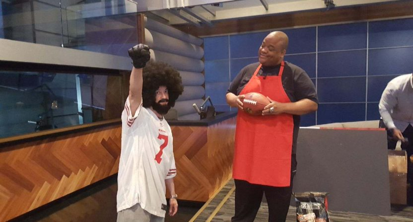 This Whitlock-Kaepernick sketch will never be seen.