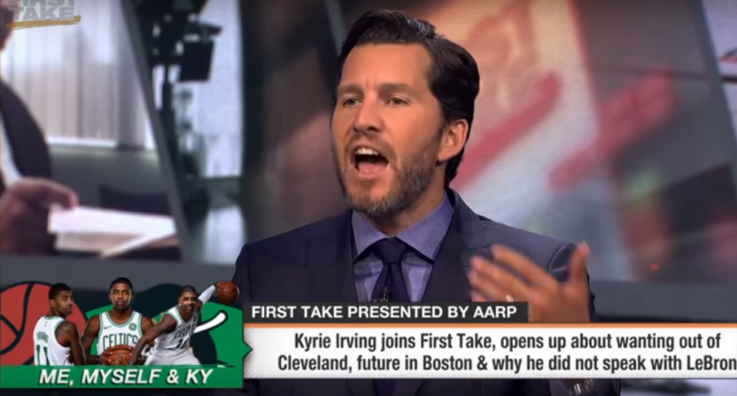 Will Cain on First Take