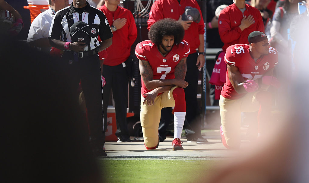 The year in sports media: Colin Kaepernick, protests during anthem