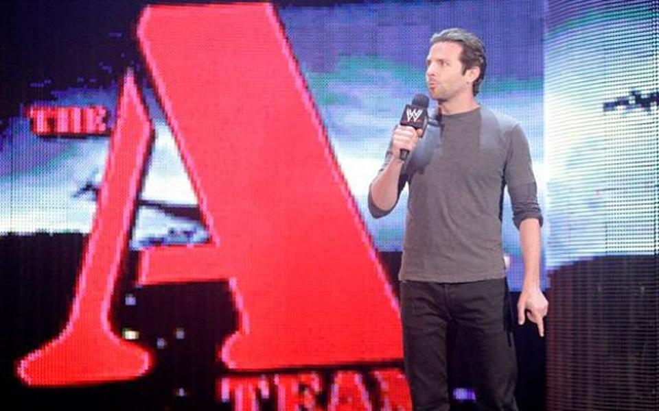 Bradley Cooper on WWE Raw
