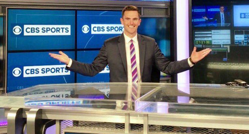 Chris Hassel is headed to CBS.