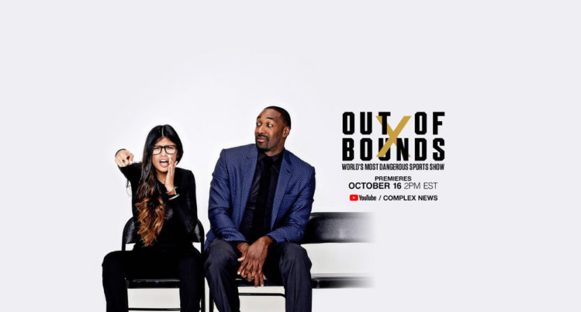 Mia Khalifa and Gilbert Arenas will host Out Of Bounds on Complex's YouTube channel.