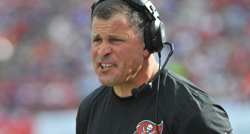 Greg Schiano with Tampa Bay.
