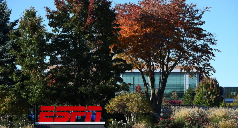 ESPN's campus in Bristol.