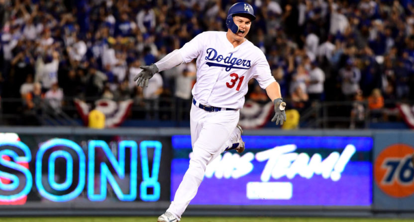 joc pederson-los angeles dodgers-world series ratings