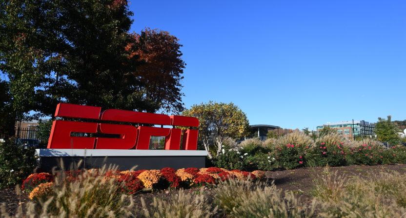 ESPN campus.