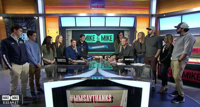 mike golic-mike greenberg-mike & mike