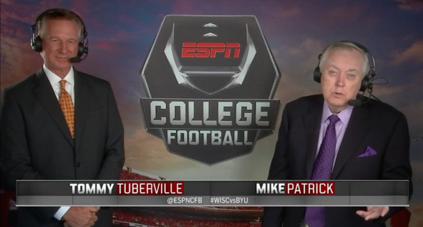 Tommy Tuberville Mike Patrick