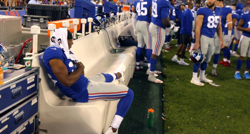 buy online 4fee7 61cd9 New York Giants fine Eli Apple for tweeting from the ...