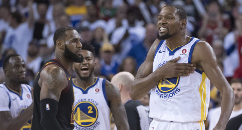 Cavs-Warriors on Christmas. The Warriors again had the NBA's best local ratings.