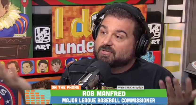 dan le batard-rob manfred