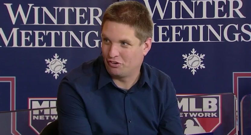 Dave Cameron at the 2017 winter meetings.