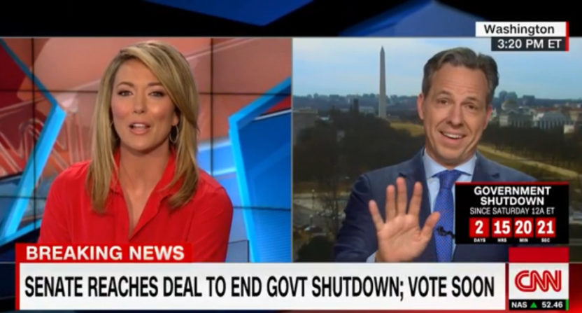 Brooke Baldwin and Jake Tapper on CNN.