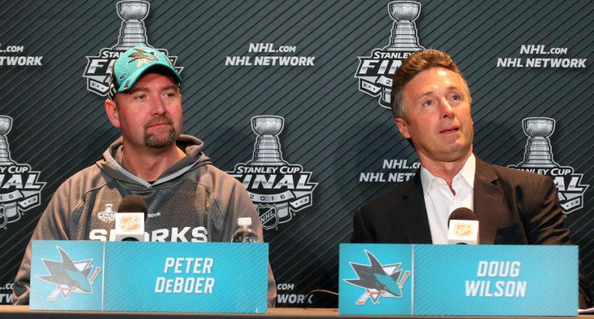 Peter De Boer and Doug Wilson.