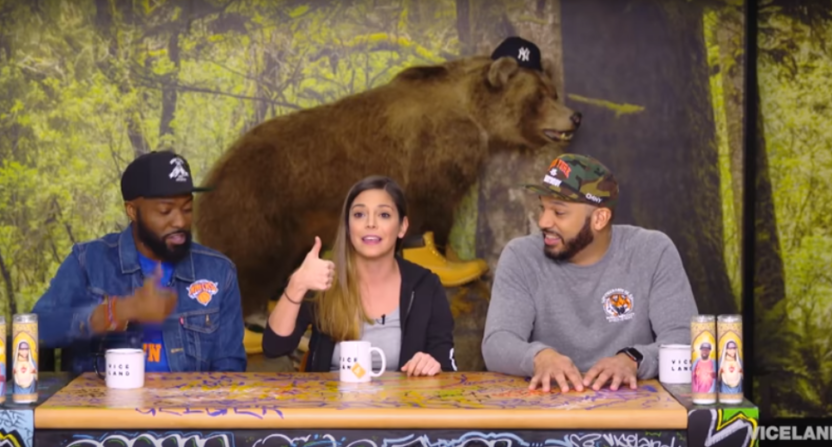 Katie Nolan on Desus and Mero.