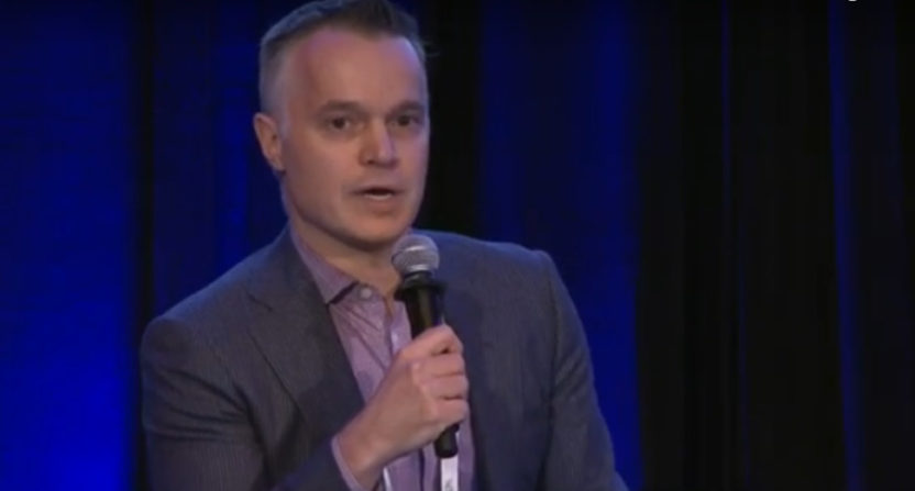 Mark Pesavento at a 2016 conference.