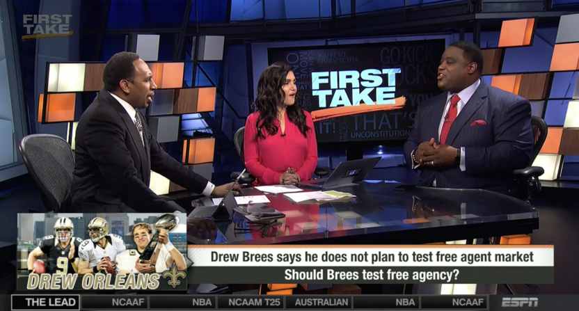 stephen a. smith-damien woody-first take