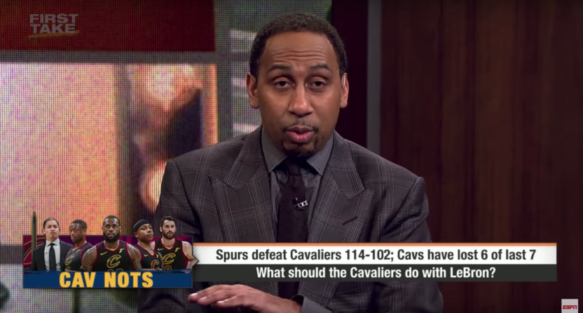 stephen a smith-dan gilbert