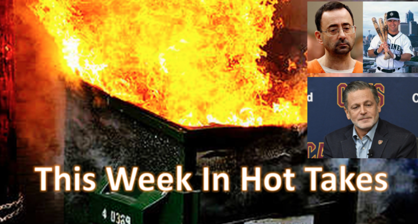 This Week In Hot Takes for Jan. 19-25.