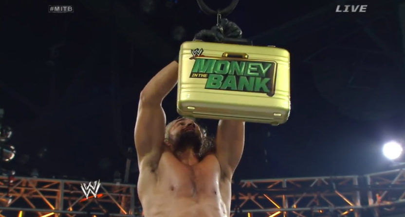 A WWE Money In The Bank match.