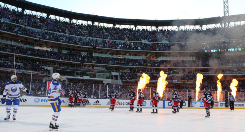 The 2018 NHL Winter Classic.