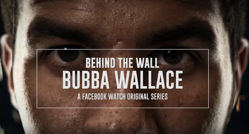 Behind The Wall: Bubba Wallace will premiere on Facebook Watch Thursday.