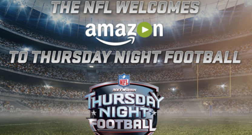 NFL Thursday Night Football coverage on Amazon.